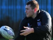 Hull FC prop Scott Taylor in training. Image: HDM