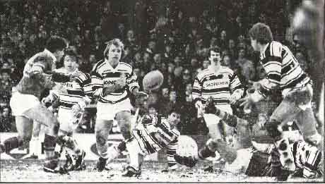 Peter Sterling and Lee Crooks were formidable in their time at Hull FC.