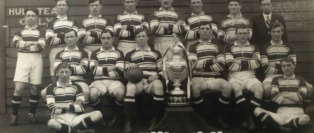 Hull FC's Challenge Cup winning side of 1913-14