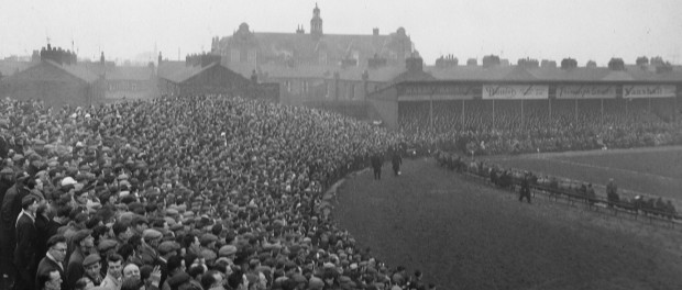 Looking at the Gordon Street End, the Boulevard.