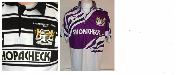 1991 Hull FC Premiership Shirt
