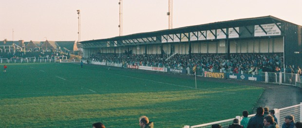 The Threepenny Stand prior to renovation.