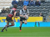 Marc Sneyd in action during Hull FC's win over Warrington. Image: Peter Harbour, Hull Daily Mail