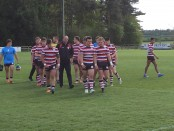 City of Hull Academy ran in 17 tries against Cumbria.