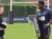 Hull FC under-23 stars Ash Bastiman and Masimbaashe Matongo.
