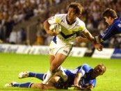 Andrew Johns in action. It was a joy to watch him, but even sweeter to send him home!