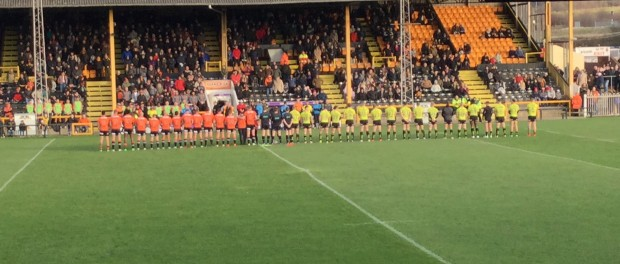Hull FC Castleford Boxing Day