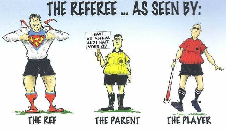 Referee Cartoon