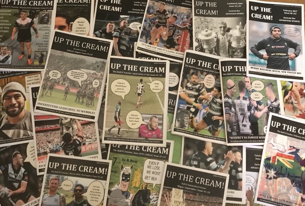 Fanzine Up the Cream