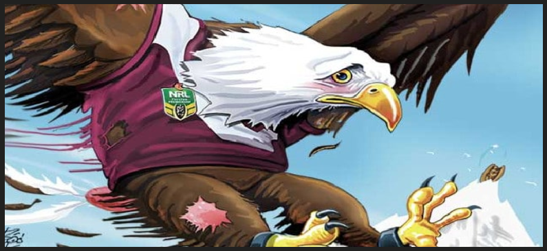 manly eagle