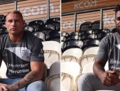 New signings Levy Nzoungou and Danny Langtree. Image: Hull FC